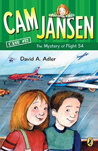 9780142401798: Cam Jansen: the Mystery of Flight 54 #12