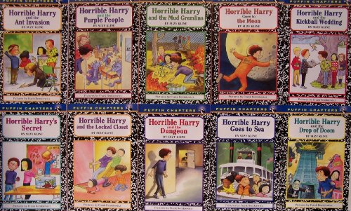 9780142405338: Horrible Harry and the Drop of Doom / Horrible Harry Kickball Wedding / Horrible Harry's Secret / Horrible Harry and the Purple People, Horrible Harry and the Mud Gremlins / Ant Invasion / Locked Closet / Goes to the Moon / Goes to Sea / Dungeon