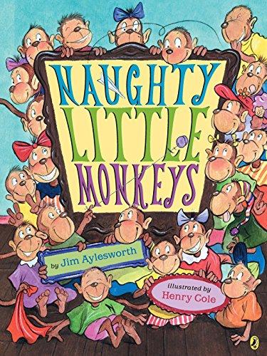 9780142405628: Naughty Little Monkeys