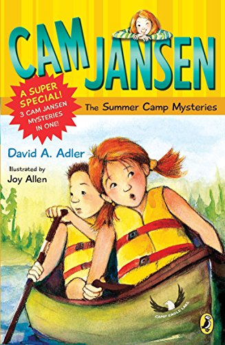 9780142407424: Cam Jansen and the Summer Camp Mysteries (Cam Jansen: A Super Special)