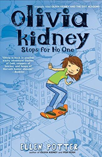 Olivia Kidney Stops for No One: Ellen Potter