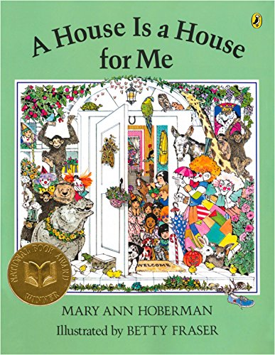 A House Is a House for Me (0142407739) by Mary Ann Hoberman