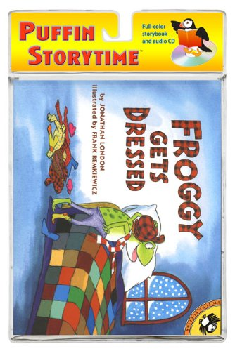 9780142408704: Froggy Gets Dressed (book and CD)(Puffin Storytime)