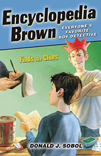 9780142408902: Finds the Clues (Encyclopedia Brown)