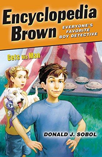 9780142408919: Gets His Man (Encyclopedia Brown)