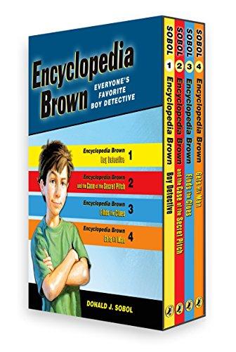 9780142409855: Encyclopedia Brown 4 Volume Boxed Set