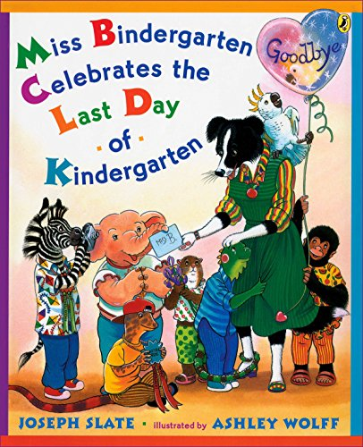 9780142410608: Miss Bindergarten Celebrates the Last Day of Kindergarten