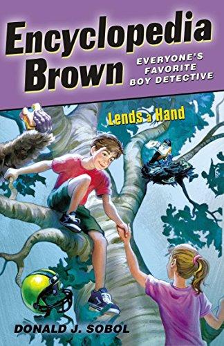 9780142411056: Encyclopedia Brown Lends a Hand