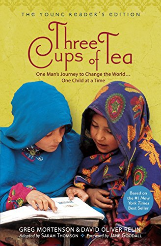9780142414125: Three Cups of Tea: One Man's Journey to Change the World... One Child at a Time (Young Reader's Edition)