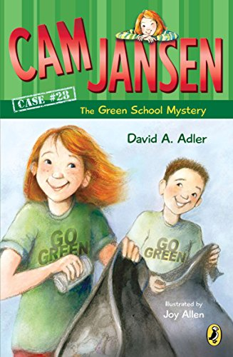 9780142414569: Cam Jansen: the Green School Mystery #28