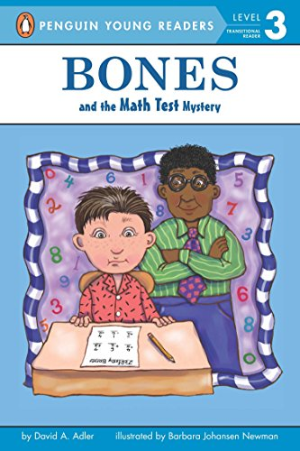 9780142415191: Bones and the Math Test Mystery