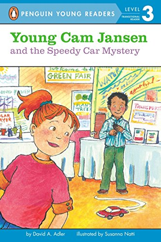 9780142418680: Young Cam Jansen and the Speedy Car Mystery