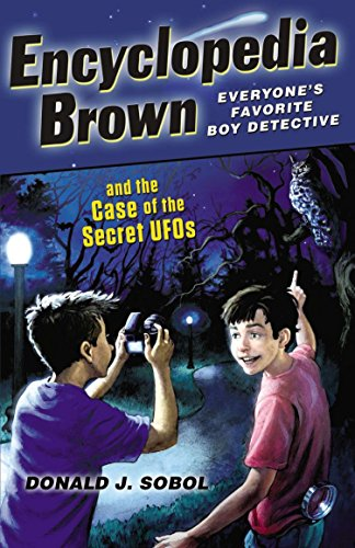 9780142419335: Encyclopedia Brown and the Case of the Secret UFOs
