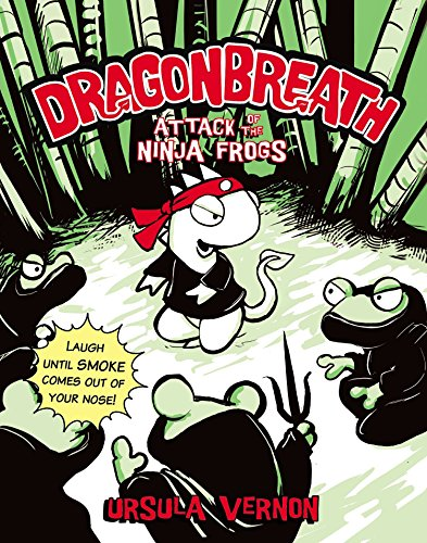 9780142420669: Attack of the Ninja Frogs (Dragonbreath (Paperback))