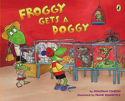 9780142422304: Froggy Gets a Doggy