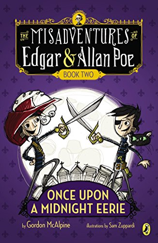 9780142423493: Once Upon a Midnight Eerie: Book #2 (Misadventures of Edgar/Allan)
