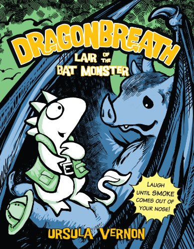 9780142424803: UC Dragonbreath #4: Lair of the Bat Monster