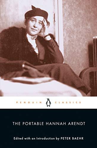 9780142437568: The Portable Hannah Arendt (Penguin Classics)