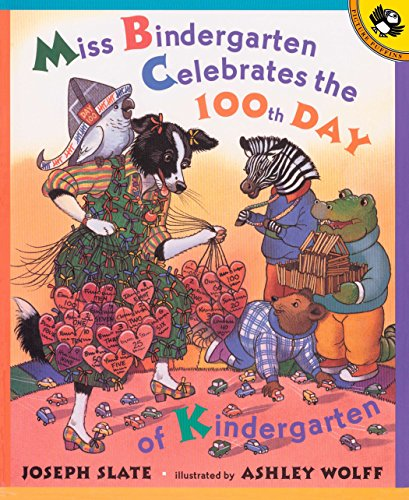 9780142500057: Miss Bindergarten Celebrates the 100th Day of Kindergarten (Picture Puffins)