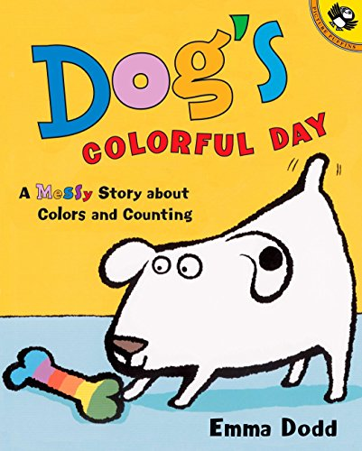 9780142500194: Dog's Colorful Day: A Messy Story About Colors and Counting (Picture Puffin Books)