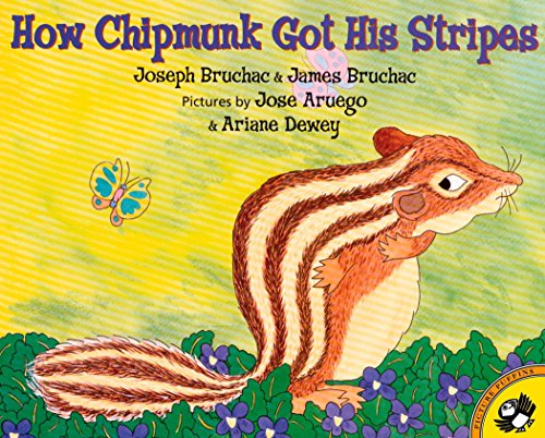 9780142500217: How Chipmunk Got His Stripes (Picture Puffin Books)