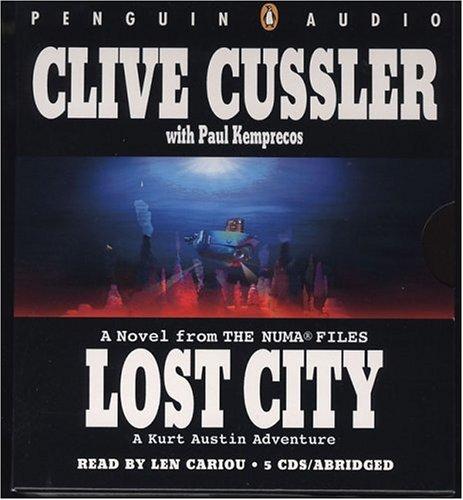 9780142800614: Lost City Abridged CDs (NUMA Files)