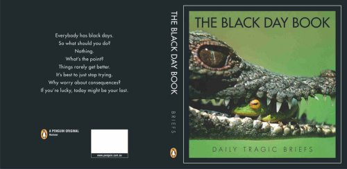 9780143004387: The Black Day Book: Daily Tragic Briefs