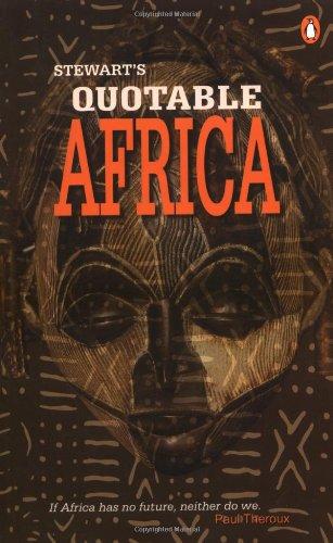 9780143024576: Stewart's Quotable Africa