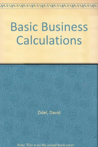9780143024583: Basic Business Calculations