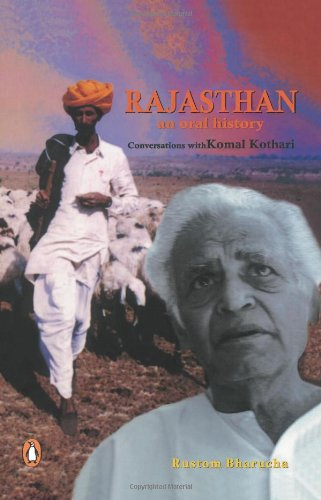 9780143029595: Rajasthan: An Oral History - Conversations with Komal Kothari