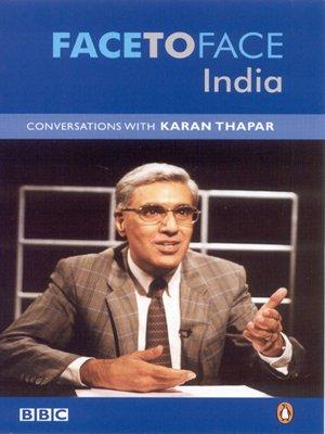 9780143033448: Face to Face India: Conversations with Karan Thapar