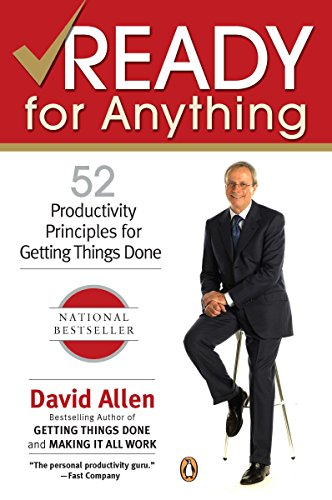 9780143034544: Ready for Anything: 52 Productivity Principles for Getting Things Done