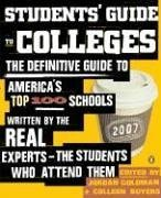 9780143035589: Students' Guide to Colleges: The Definitive Guide to America's Top 100 Schools Written by the Real Experts--T He Students Who Attend Them