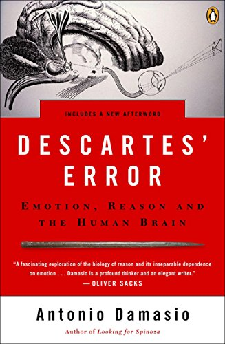9780143036227: Descartes' Error: Emotion, Reason, and the Human Brain
