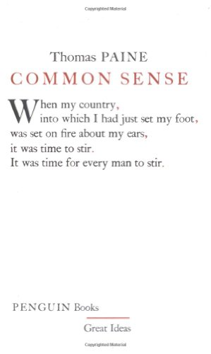 9780143036258: Common Sense (Penguin Great Ideas)