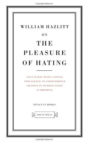 9780143036319: On The Pleasure of Hating