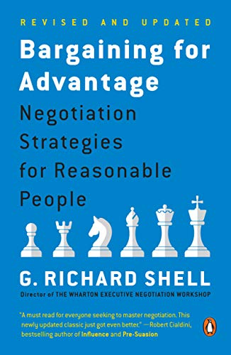 9780143036975: Bargaining for Advantage: Negotiation Strategies for Reasonable People 2nd Edition