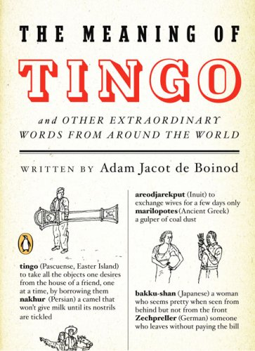 9780143038528: The Meaning of Tingo: And Other Extraordinary Words from Around the World
