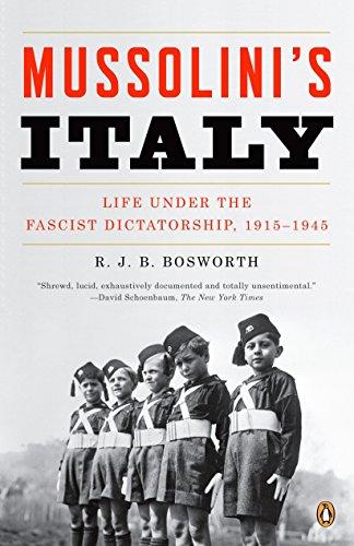 9780143038566: Mussolini's Italy: Life Under the Fascist Dictatorship, 1915-1945