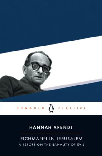 9780143039884: Eichmann in Jerusalem (Penguin Classics)