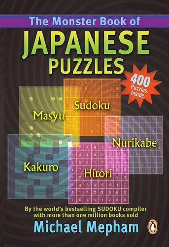 9780143050353: Monster Book Of Japanese Puzzles