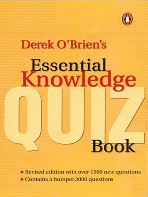 9780143061984: Derek O'Brien's Essential Knowledge Quiz Book