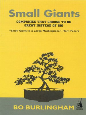 9780143062288: Small Giants: Companies That Choose to be Great Instead of Big