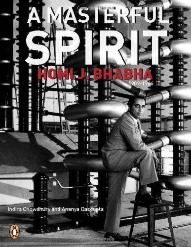 9780143066729: Masterful Spirit: Homi J. Bhabha (1909 1966)