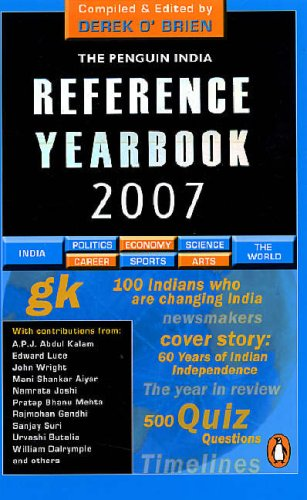 9780143100874: The Penguin India Reference Yearbook 2007