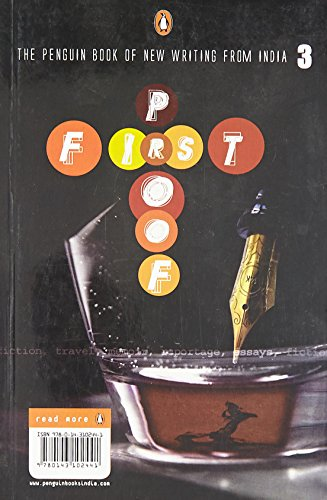 9780143102441: First Proof, Volume 3: The Penguin Book of New Writing from India