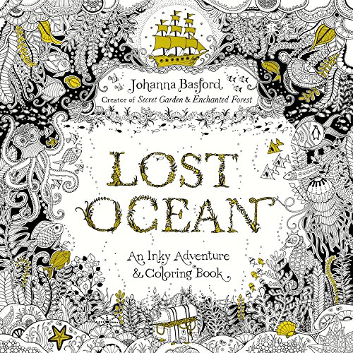 9780143108993: Lost Ocean: An Inky Adventure and Coloring Book for Adults