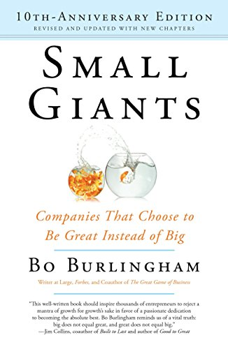 9780143109600: Small Giants: Companies That Choose to Be Great Instead of Big