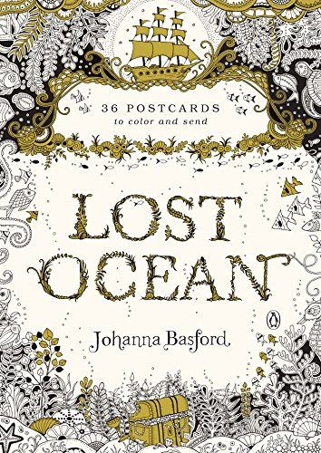 9780143110217: Lost Ocean: 36 Postcards to Color and Send