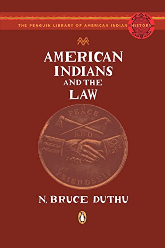 9780143114789: American Indians and the Law (The Penguin Library of American Indian History)